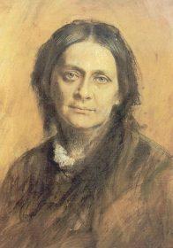 Clara Schumann 1878, Pastell von Franz von Lenbach