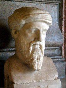 Büste von Pythagoras