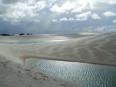 Wüsten-Sonderform Lençóis Maranhenses in Brasilien