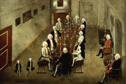 Friedrich Wilhelm I. und sein Tabakskollegium (1737)