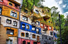 Hundertwasser Haus in Wien
