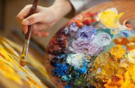 Farben für Gemälde