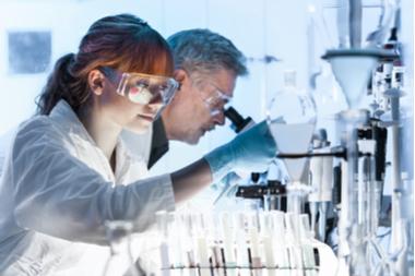 Untersuchung von Epidemiologie im Labor